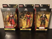 Marvel Legends Open Box Lot Sunspot, Pirate Deadpool & Black Tom Cassidy No BAF