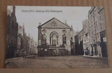 Postcard Dundee Old Nethergate & Union Hall unposted