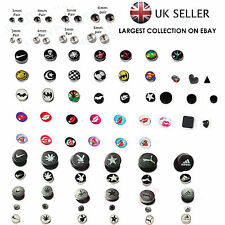 Non Piercing Clip on Magnetic Magnet Ear Stud Mens Womens Fake Earrings New