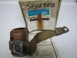 75 Chevrolet Oldsmobile Station Wagon Second Seat Seatbelt Saddle NOS 1695262