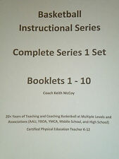 Basketball Instructional Series Complete Set of Booklets 1 - 10 (Bound)