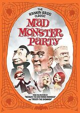 MAD MONSTER PARTY (DVD, 1967/2005) Boris Karloff, Phyllis Diller