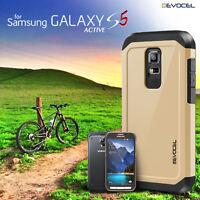 Galaxy S5 Active Case, Evocel® Dual Layer Armor Hybrid Protector Case (SM-G870)