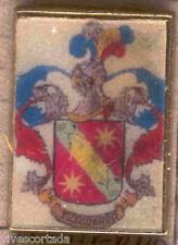 Heraldry PIN metallic del last name : LEFT