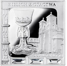 Niue 2014 Chalice from the Tyniec Abbey Missing Works of Art Proof Silver Coin