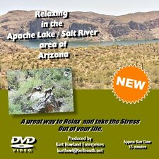 RELAXING IN APACHE LAKE ARIZONA, beautiful scenery, + Free bonus Slide Show DVD