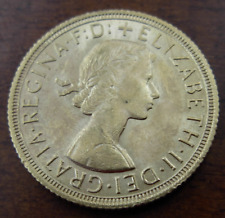 Great Britain 1958 Gold 1 Sovereign UNC Elizabeth II