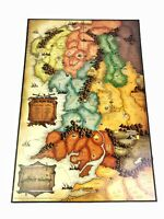 Risk Lord Of The Rings Trilogy Edition Game Replacement Parts GAME BOARD New