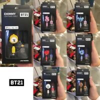 BTS BT21 Official Authentic Goods Lightning Cable 8pin / C-Type Cable 3.3ft