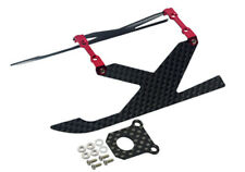 NEW Microheli Blade 130x Alum/Carbon Fiber Landing Gear Y Style RED 130 X