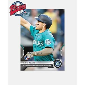Jarred Kelenic RC 1st Hit Home Run  - 2021 MLB TOPPS NOW Card 211 Pre-Sale