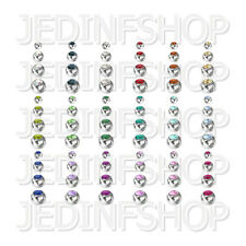 Spares Replacements - Gem Balls - Steel - 1.2mm (16g) - 3mm 4mm 5mm 6mm