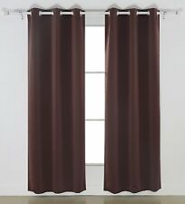 "Living Room Curtain Blackout Darkening Drape Best Thermal Bedroom Panel 63"" 84"""