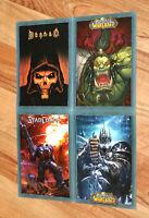 2008 Paris Blizzard Worldwide Invitational Postcard Set Diablo Starcraft WOW