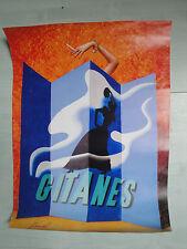 Affiche Gitanes Pinel