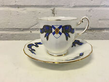 Royal Adderley English Porcelain Nova Scotia Tartan Cup & Saucer