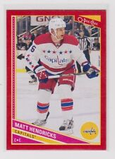 MATT HENDRICKS 2013-14 13-14 O-Pee-Chee OPC Red parallel #259 Wrapper Redemption