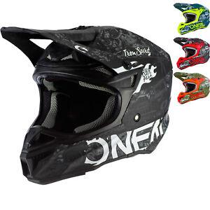 Oneal 5 Series Polyacrylite HR Motocross Helmet MX ATV Bike Crash Adventure Quad