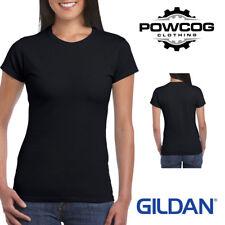 Ladies Gildan Softstyle® Gildan 100% Cotton T-Shirt Plain T Shirt Womens Female