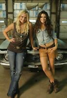 Danica Patrick & Miranda Lambert (2) 4x6 Glossy Photos