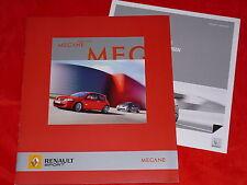 Renault megane renault sport 2.0 16v turbo + 2.0 DCI prospectus + liste de prix 2007