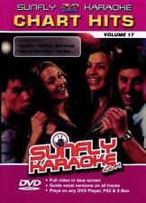 CHART HITS VOL 17 SUNFLY KARAOKE MULTIPLEX DVD - 12 TRACKS