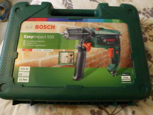 BOSCH  550w  ELECTRIC  HAMMER  DRILL & CARRY CASE-- BRAND  NEW / unused