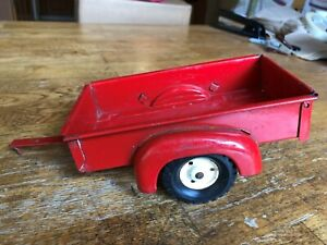 """Tru-Scale trailer made of pressed steel for pickup truck to pull - 9"""" in length"""