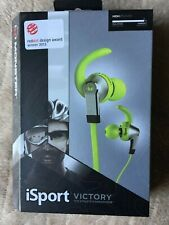 Monster iSport Victory In-Ear Only Headphones - Green Apple.Sealed.