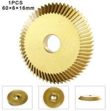 Gold Hss Key Machine Cutter Titanium Coated Single Side Circular Saw Blade Cut