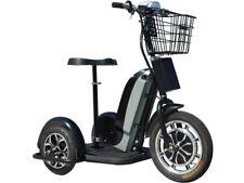 New listing MotoTec Electric Mobility Trike 48v 800w, LED Light, Key & Basket, Cap.240lb NEW