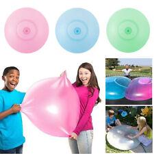 120cm Wasserball Wubble Bubble Ball Riesenblase Gummi Ball Aufblasbarer Riesen