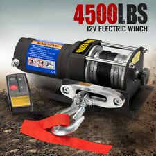 X-BULL EE0022 12V Wireless Electric Winch with Synthetic Rope