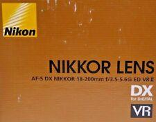 Nikon DX Zoom Nikkor AF-S DX 18-200 mm F/3.5-5.6G ED VRII Objektiv
