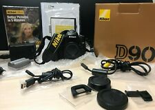 Nikon D90 Digital SLR 12.3 MP - Original Packaging - *Read Description*