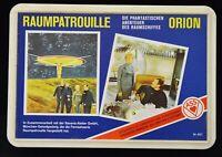 Raumpatrouille Orion Quartett, Luxusausgabe, komplett, top erhalten um 1970
