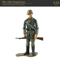 ✙ 1:18 21st Century Toys Ultimate Soldier WWII German Army Infantryman Figure