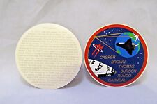 NASA STS-77 Space Shuttle Endeavour Crew Patch Decal Casper Brown Runco