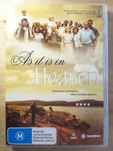 As It Is in Heaven  - DVD - SWEDISH FOREIGN FILM Award Winning English Subtitles