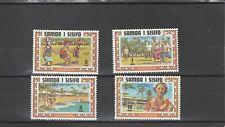 SAMOA - SG365-368 MNH 1971 TOURISM