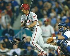 Signed  8x10 SO TAGUCHI Philadelphia Phillies Autographed photo - COA