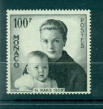 Monaco 1958 - Y & T  n. 489 - Naissance du prince Albert