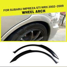 Car Rear Wide Wheel Arch Fender Flares Trim Fit for Subaru Impreza STI WRX 02-09