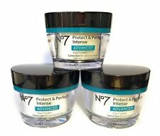 3x Boots No7 Protect & Perfect Intense Advanced Day Cream SPF30 - 50ml each