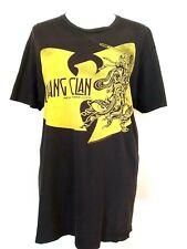 Wu Tang Clan Graphic Black Short Sleeve Crew Neck T-Shirt Top 2010
