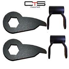 K1500 Silverado Sierra Tahoe Yukon Lift Kit Torsion Key Way Short Shackles