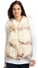 Blue Duck Raccoon Fur Vest Saks Size Medium Med M