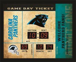Carolina Panthers Bluetooth Scoreboard Wall Clock Free Ship