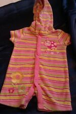 Unbranded Girls' Floral Babygrows & Playsuits (0-24 Months)