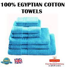 100 % EGYPTIAN COTTON TOWEL Face / Guest / Hand / Bath Towel / Bath Sheet TEAL